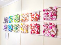 Origami Dove display in our studio