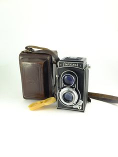 Vintage Flexaret IVa Meopta SLR Camera Twin Lens by ContesDeFees