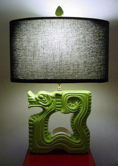 Royal Haeger Dragon Lamp by haegernerd, via Flickr