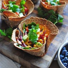Breakfast Taco Cups - Healthy Breakfast Recipes: Vegetable Breakfasts - Shape Magazine