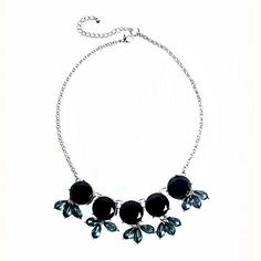 Buy Mixit™ Black Stone Silver-Tone Bib Necklace today at jcpenney.com. You deserve great deals and we've got them at jcp!
