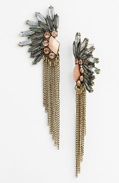 Robert Rose 'Fan - Glam' Earrings. Love these statement-making, art-deco inspired stunners. It'll jazz up any outfit!