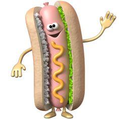 Sticker Hotdog