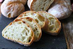 Az eredeti olasz ciabatta receptje, amit otthon is elkészíthetsz Pastry Recipes, Bread Recipes, Ciabatta Bread Recipe, Bread Jam, Best Homemade Bread Recipe, Dinner Rolls Recipe, Sweet Buns, Easy Bread, Fresh Bread