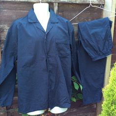 Vintage gents pyjamas M waist 33-35 in 84-89 cm by coolclobber