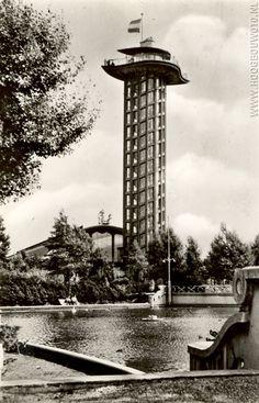 Uitkijktoren Diergaarde Blijdorp Rotterdam gebouwd in1938 helaas gesloopt in 1972