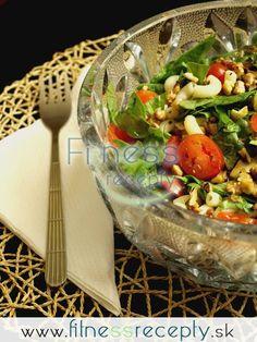 Špenátovo-cestovinový šalát s orechmi What To Cook, Cooking, Fitness, Bulgur, Kitchen, Brewing, Cuisine, Cook