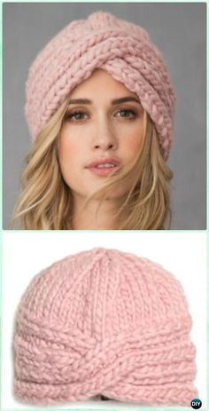 Crochet SOHO Turban Hat Free Pattern - Crochet Turban Hat Free Patterns