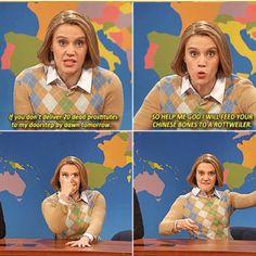 This >>>> I love Kate McKinnon