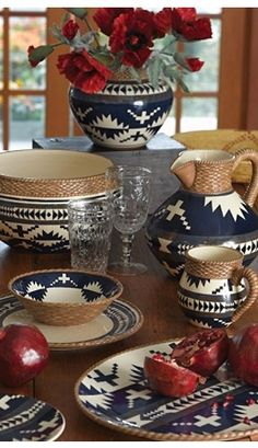 The Lakota dinnerware collection from Pendleton.