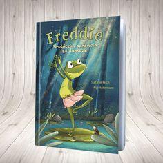 Freddie, brotăcelul care voia să danseze! Parenting, Cover, Shop, Books, Ideas, Author, Libros, Book, Book Illustrations