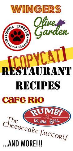 Copycat Recipes Archives | Favorite Family RecipesFavorite Family Recipes