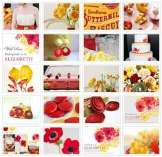 {Color Crush}: Red + Yellow ☛ http://ow.ly/aeyKW