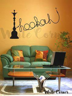 rta890 Smoke Tobacco Hookah bar Cafe Lounge by WhiteCornerDesigns