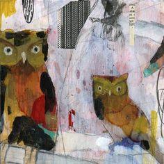 Progress Owl 2 by Judy Paul