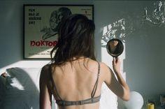 Imagem de girl, mirror, and photography