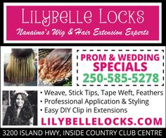 Clip In Extensions, Vancouver Island, Coupons, Easy Diy, Wigs, Canada, Coupon, Bricolage Facile, Lace Front Wigs