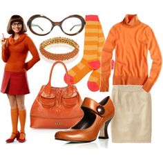 I'm Velma, hubby is Shaggy for Halloween Scooby Doo Halloween Costumes, Velma Costume, Costume Dress, Holidays Halloween, Halloween 2017, Spooky Halloween, Halloween Ideas, Happy Halloween, Shaggy And Velma