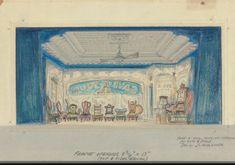 Guys & Dolls 1950. Jo Mielziner designer Guys And Dolls, Golden Age, Taj Mahal, Theatre, Musicals, Broadway, Scenery, Painting, Ideas