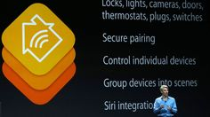 Apple Joins the Smart Home Revolution With HomeKit = The platform will allow users to users to control locks, lights, cameras, doors, thermostats, plugs and switches at the home via one iOS 8 app, without the need for multiple apps to control each device or function. =  they want to do what @Revolv is already doing? = Home