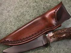 Custom Hand tooled Leather Sheath for Your Knife | Pinterest | Knife