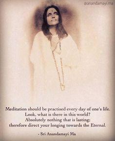 Maa Quotes, Saints Of India, Autobiography Of A Yogi, Advaita Vedanta, Ramana Maharshi, Divine Mother, Saint Quotes, English Vocabulary Words, Verse