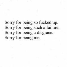 I'm really sorry, I didn't choose myself.