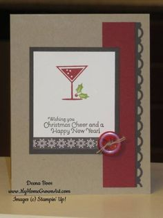 Happy Hour Holiday by dboos - Cards and Paper Crafts at Splitcoaststampers