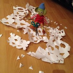 Who knew this elf could be so creative