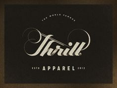 Thrill Apparel