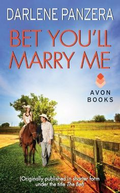 Bet You'll Marry Me: (Originally published in shorter form, under the title THE BET, at the end of Debbie Macomber's FAMILY AFFAIR) by Darlene Panzera, http://www.amazon.com/dp/B007HB8E8A/ref=cm_sw_r_pi_dp_dUcgrb05R55JN