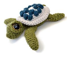 Amigurumi Turtle Ernest by Kate E. Hancock  about $4.98