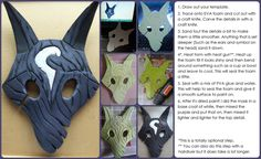 For my upcoming cosplay of Kindred from League of Legends, here's my mask tutorial! This is all gonna be done for LCS Worlds Quarter-finals. Check out my cosplay page for more updates and tutorials...