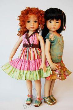 Очарование детства. Куклы Дианы Эффнер, Dianna Effner dolls / Коллекционные куклы Дианы Эффнер, Dianna Effner / Бэйбики. Куклы фото. Одежда для кукол