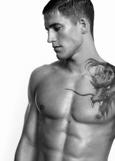 Shoulder tattoo-I wish I could see more of this dragon...very cool