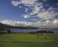 """Scotland, paradise for the golfer; A view to """"The Braes"""" at the Isle of Skye Golf Club, Sconser,  Flickr - Photo Sharing!"""