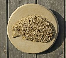 Tile Plaques Home Decor Hedgehog Wall Plaque Animal Sculpturelocal Artist Animal