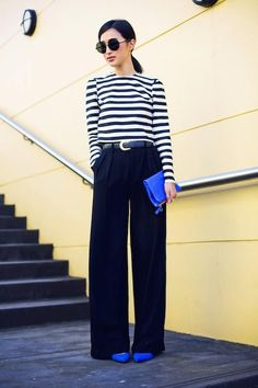 Trousers and stripes!