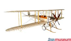 Royal Aircraft Factory B.E.2b.    The B.E.2b was an aircraft used by the Royal Flying Corps early in the war for reconnaissance. It proved vulnerable to attack by enemy fighters and was withdrawn from front-line duty in 1915 to become a training aircraft.