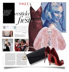 """""""Untitled #49"""" by nnnads on Polyvore featuring Cinq à Sept, Florence Bridge, Christian Louboutin and Accessorize"""