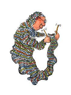 knitting illustration - Google-søgning