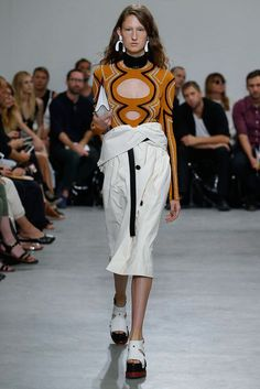 Proenza Schouler New York Spring/Summer 2017 Ready-To-Wear Collection