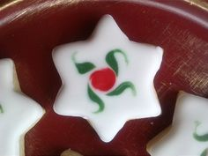 Pastas de té de Navidad