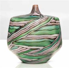 Unique laguna (Il movimento dell Acqua) vase by Yoichi Ohira