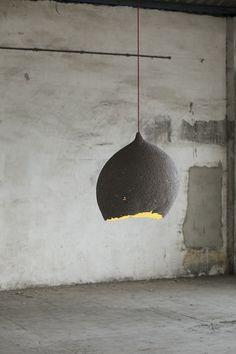 Wabi Sabi Art + Design from a Scandinavian perspective Natural elegance Scandinavian modern Harmonious style Creative spaces Clever DIY Tutorial Wabi Sabi, Lamp Design, Lighting Design, Design Art, Rustic Lighting, Creative Design, Design Ideas, Luminaria Diy, Diy Recycling
