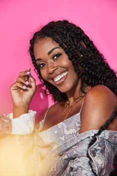 most ardently. — Nafessa Williams being gorgeous beyond. Long Braided Hairstyles, Mens Braids Hairstyles, Twist Braid Hairstyles, Twist Braids, Havana Twists, Dutch Braids, Updo Hairstyle, Braided Updo, Prom Hairstyles