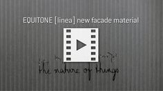 Facade panel linea from EQUITONE