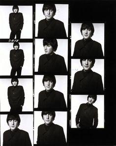 John Lennon | 1965 | David Bailey | Contact sheet