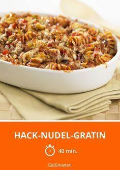 Hack-Nudel-Gratin - smarter - Zeit: 40 Min.   eatsmarter.de