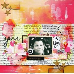 New layout made with @scraptasticclub kit: Tongue tied. Video on blog, link in profile @Studio_Calico #Padgram